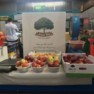 Our apples on the Green Bazaar